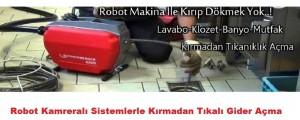 Tıkalı Gider Açma Makinesi Ankara